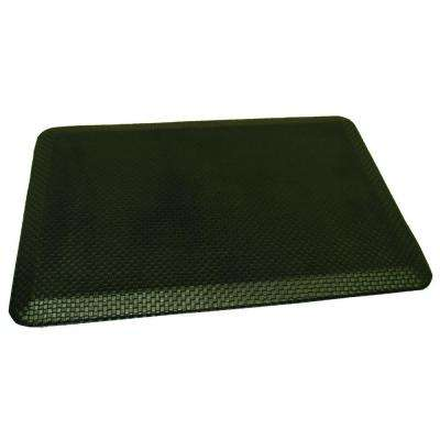 Comfort Craft South Park Black 24 in. x 36 in. Poly-Urethane Anti-Fatigue Kitchen Mat
