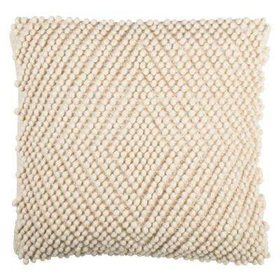 Diamond Loop Textures and Weaves Pillow