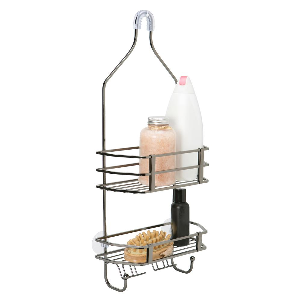 Bath Bliss Square Wire Shower Caddy - Moderno -ONYX-23384-ONYX - The ...