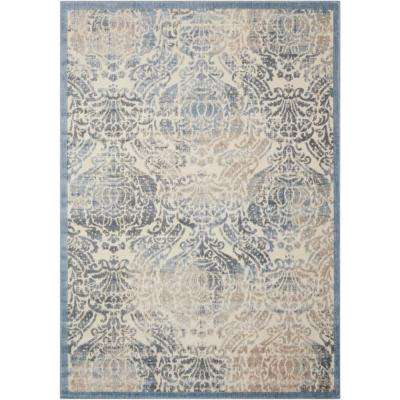 Graphic Illusions Sky 7 ft. 9 in. x 10 ft. 10 in. Area Rug