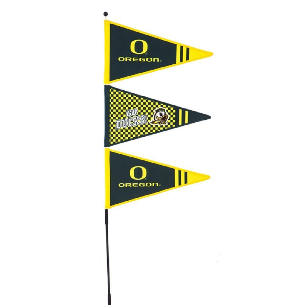 1-1/5 ft. x 4-3/5 ft. University of Oregon Pennant Spinner