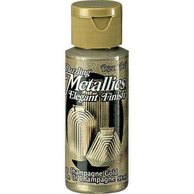 Dazzling Metallics 2 oz. Champagne Gold Acrylic Paint