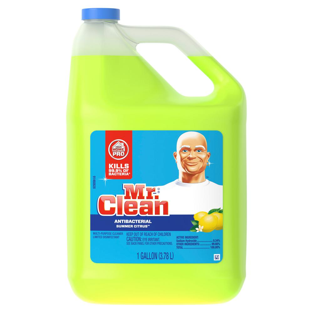 Mr Clean 128 Oz Summer Citrus Multipurpose Cleaner With