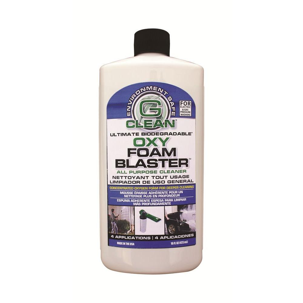 GET G-Clean 16 oz. Oxy Foam Blaster General-Purpose Cleaner for use with G-Clean Foamer Nozzle-DISCONTINUED