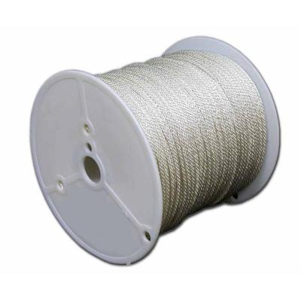 1/4 in. x 1000 ft. Solid Braid Nylon Rope Spool