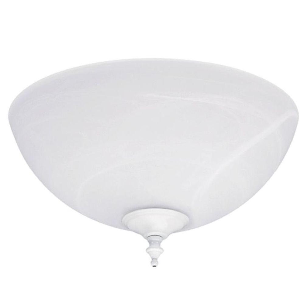 Hunter Fan Parts Order : Hunter swirled marble builder bowl ceiling fan light kit