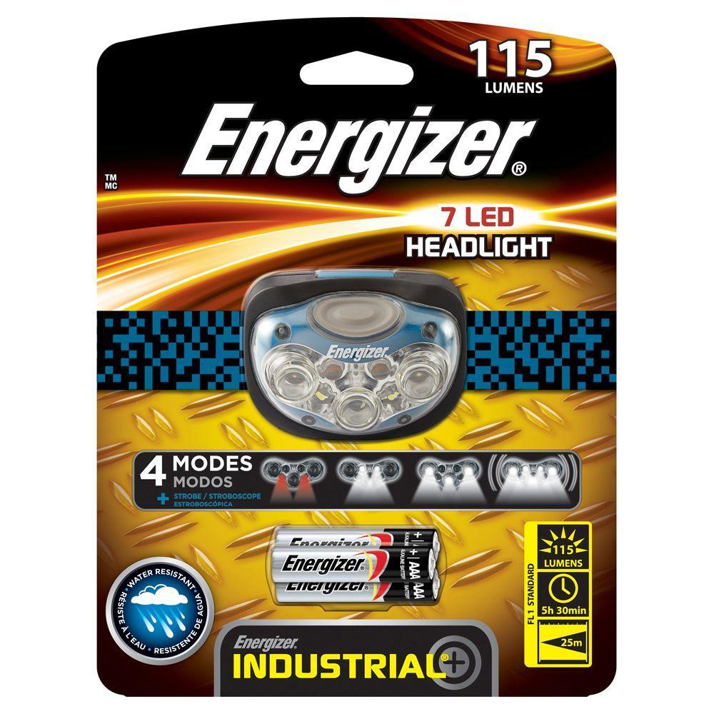 7 LED 115 Lumen Headlight