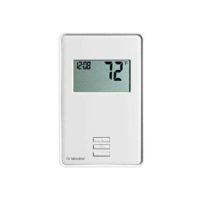 Manual Digital Floor Heating Thermostat with Built-In GFCI for Floor Heating Systems