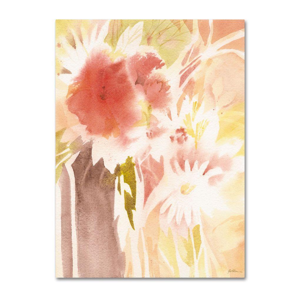 Trademark Fine Art 35 in. x 47 in. Daisy Shadow Canvas Art