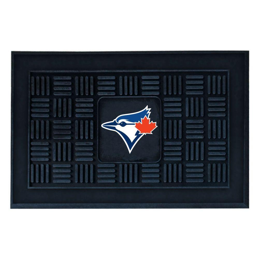 FANMATS Toronto Blue Jays 18 in. x 30 in. Door Mat-11320 - The ...