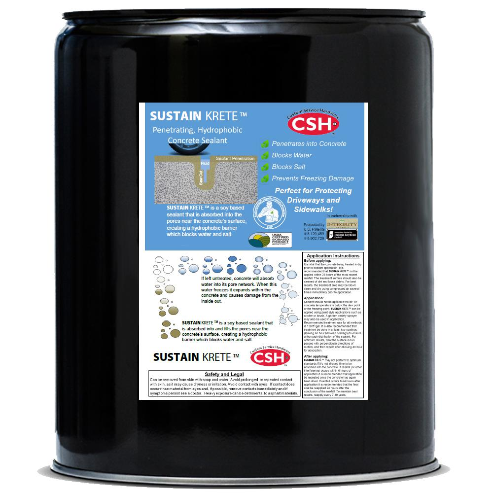 1 gal. Sustain Krete Concrete and Masonry Water and Salt Repellent