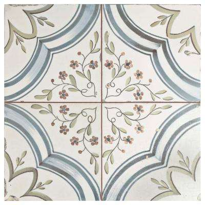 Nijar 17-5/8 in. x 17-5/8 in. Ceramic Floor and Wall Tile (11.1 sq. ft. / case)