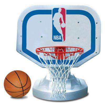 NBA Logo Competition Swimming Pool Basketball Game