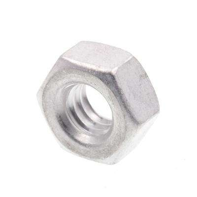 1/4 in.-20 Aluminum Finished Hex Nuts (25-Pack)