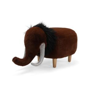 Deals on Noble House Watford Brown Fabric Upholstered Mammoth Ottoman
