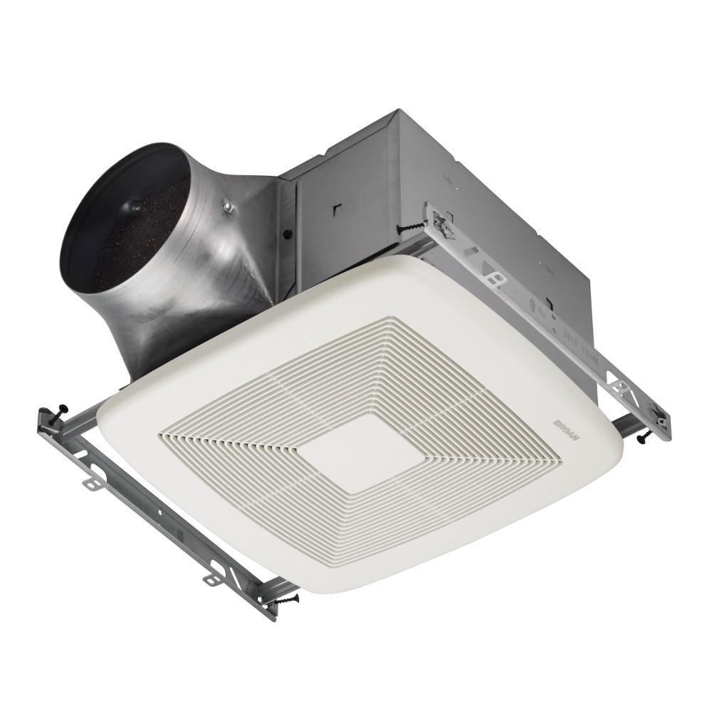Broan ultra green 80 cfm multi speed ceiling bathroom for 6 bathroom exhaust fan
