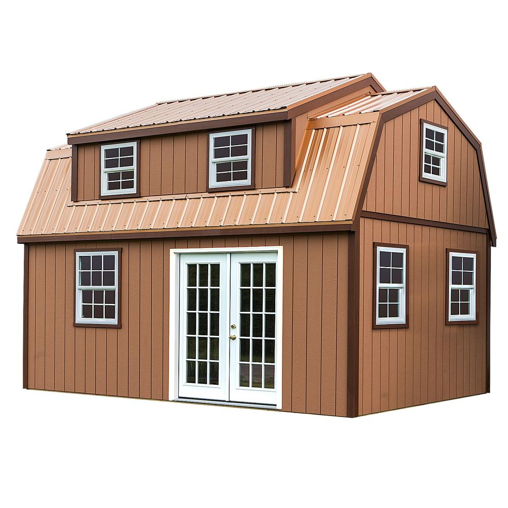 Ft X 18 Wood Storage Shed Kit