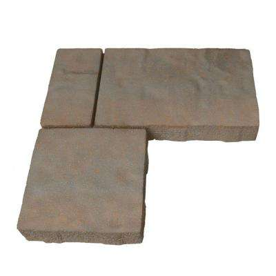 Monaco 15.75 in. x 15.75 in. x 2.25 in. Cotswold Mist Light Gray/Tan Concrete Paver (80 Pieces / 103 sq. ft. / Pallet)