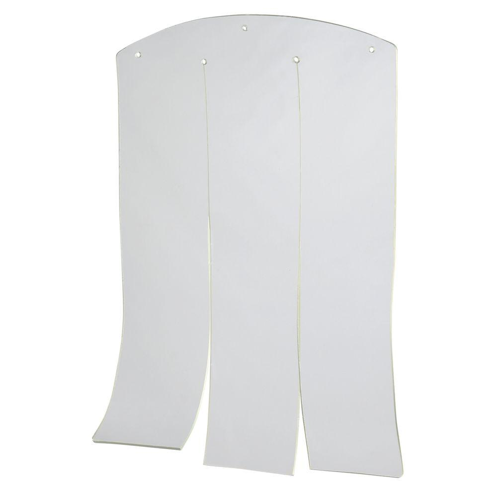 12.5 in. L x 17.5 in. H Plastic Door for Flat