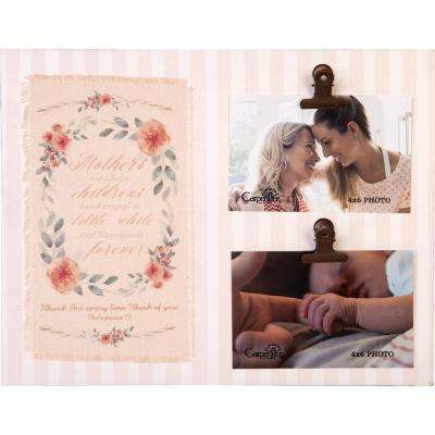 "Mother's Day Holds, 2, 4 in x 6 in Photos ""Mother"" Photo Plaque"