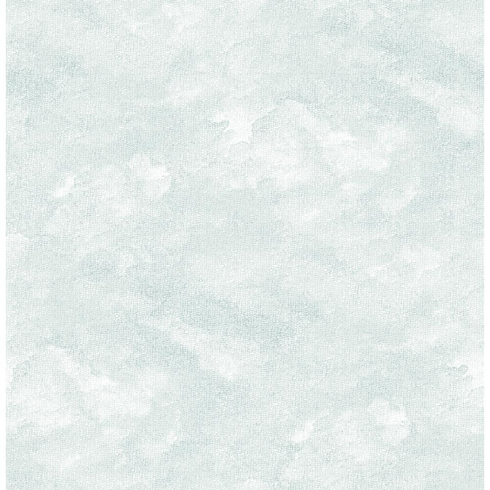 FB digital printing Motif South Sea Island Blue Light Blind Klemmfix Opaque