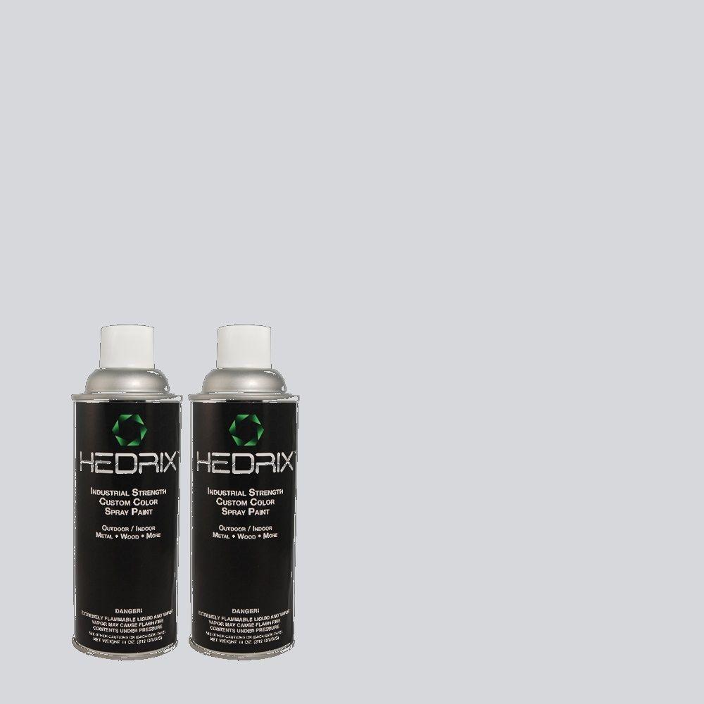 Hedrix 11 oz. Match of MQ3-60 Blue Gossamer Low Lustre Custom Spray Paint (2-Pack)