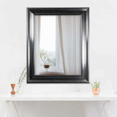 Elisa Rectangular Black Vanity Mirror