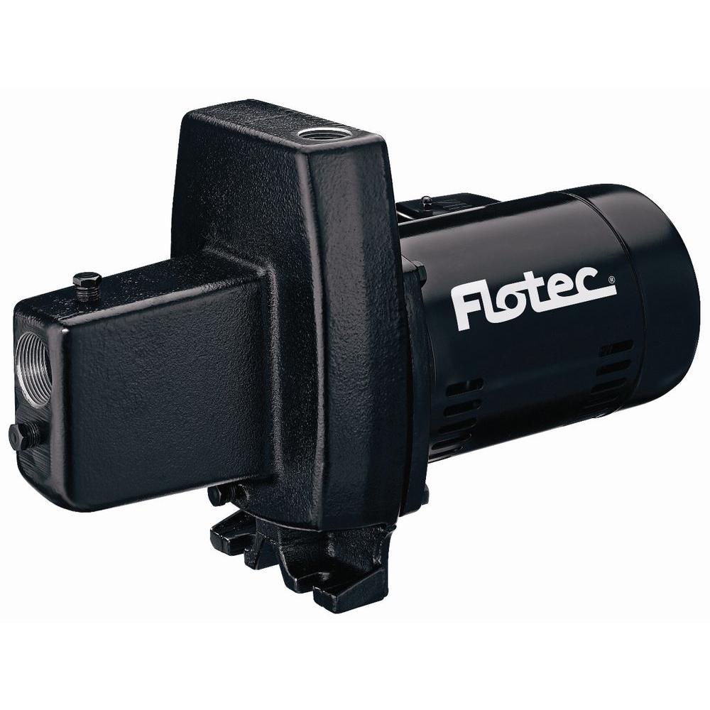 Flotec 1/2 HP Shallow-Well Cast Iron Jet Pump