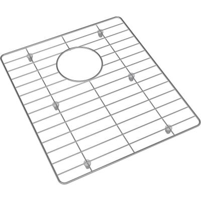 Crosstown 13.75 in. x 15.75 in. Bottom Grid for Kitchen Sink in Stainless Steel
