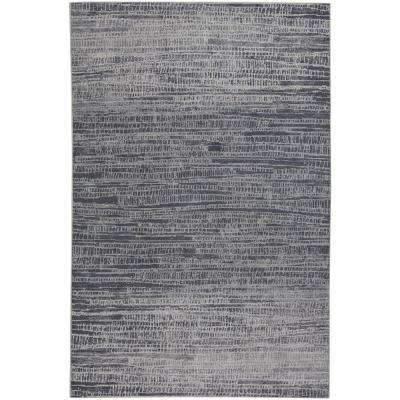 Municipality-Skyline Blue 3 ft. 11 in. x 5 ft. 6 in. Area Rug