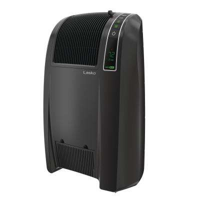 Cyclonic 1500-Watt Electric Ceramic Space Heater with Remote