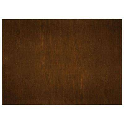 0.1875x34.5x48 in. Kitchen Island or Peninsula End Panel in Cognac
