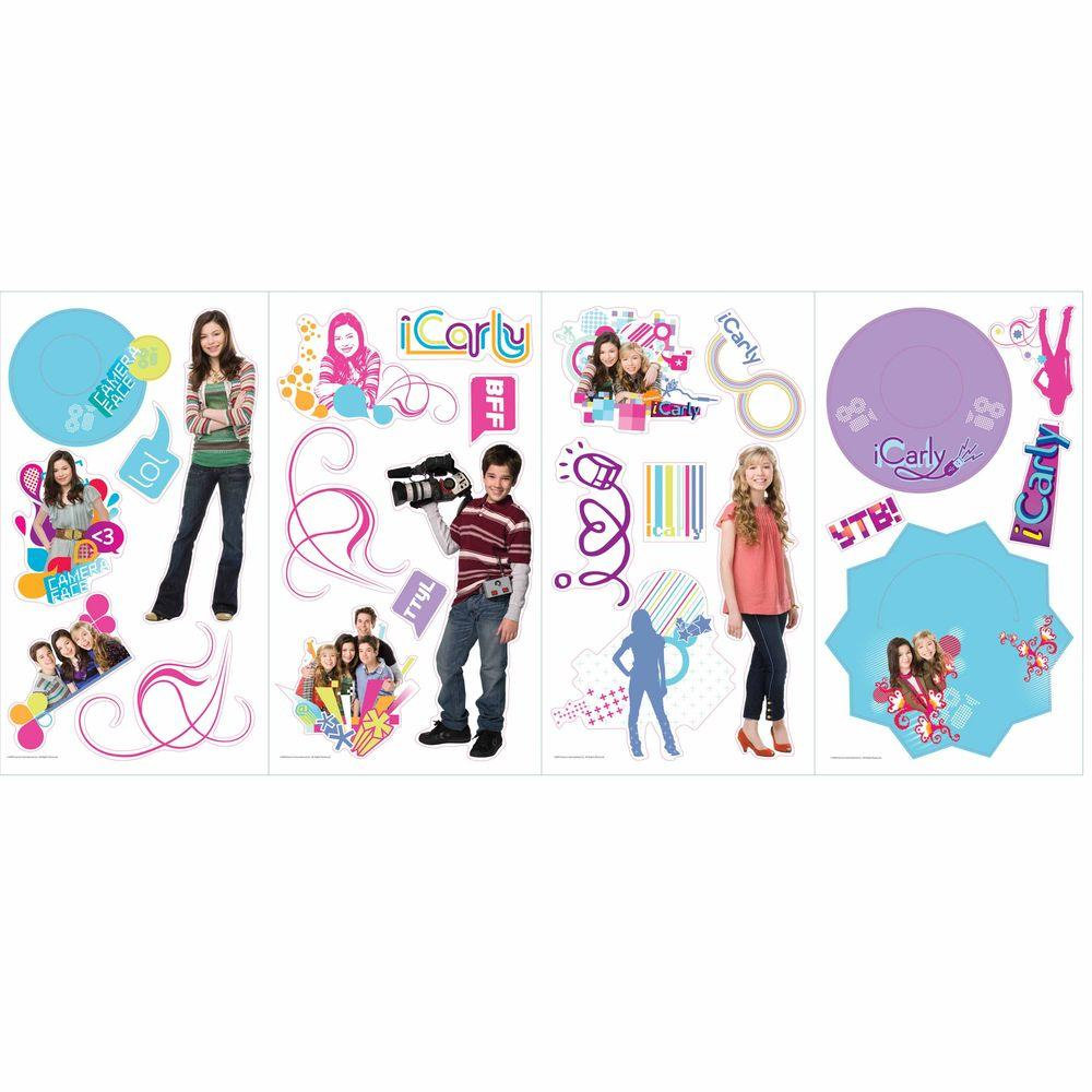 RoomMates iCarly Peel and Stick Wall Decals