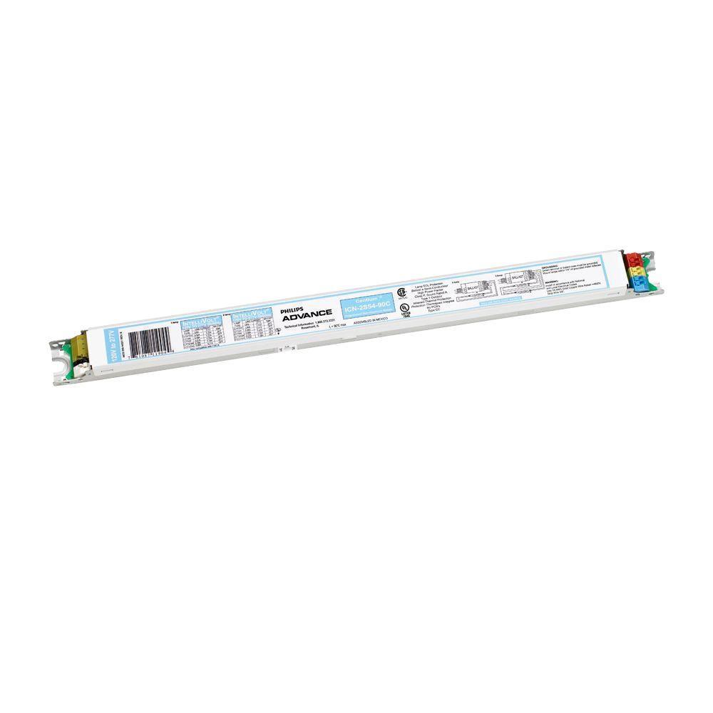 Centium 49/54-Watt 120/277-Volt 1 or 2-Lamp T5HO Programmed Start Electronic Fluorescent Replacement Ballast
