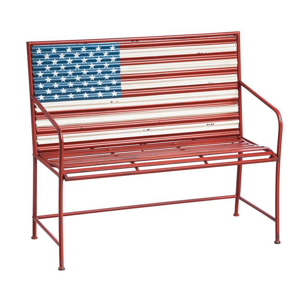 Fantastic Cape Craftsman 45 5 In American Flag Corrugated Metal Machost Co Dining Chair Design Ideas Machostcouk