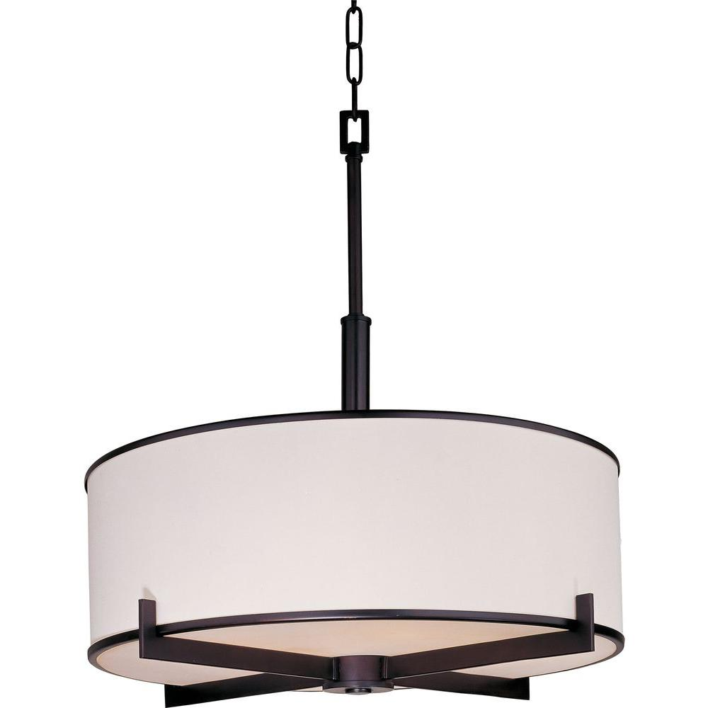 Nexus 4-Light Oil-Rubbed Bronze Pendant