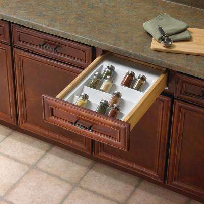 2 in. x 14.75 in. x 21 in. Polymer Spice Drawer Organizer