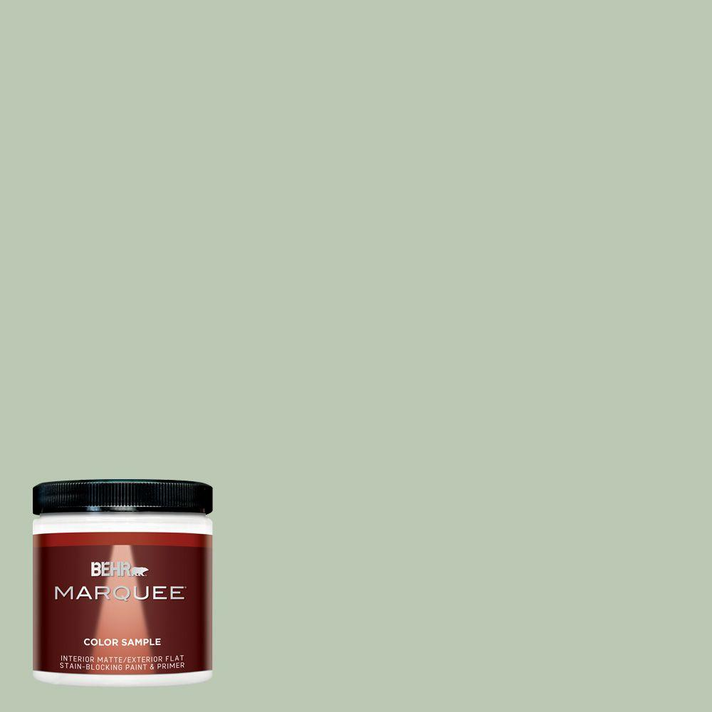 BEHR MARQUEE 8 oz. #MQ6-45 Composed Matte Interior/Exterior Paint and Primer Sample