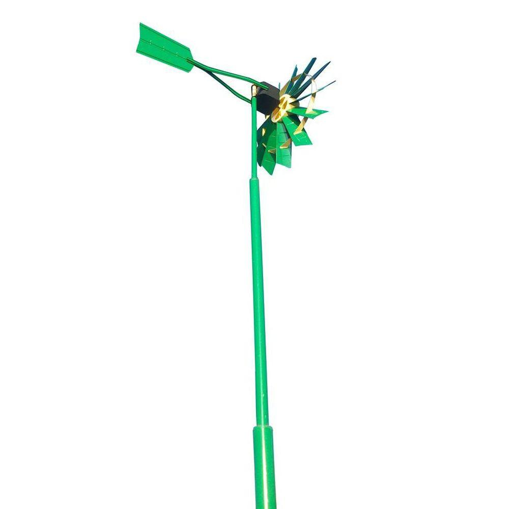 Outdoor Water Solutions Deluxe Two Color 25 ft. Telescopic Windmill Aeration System