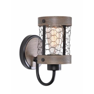 Cozy 1 Light Oil Rubbed Bronze Sconce