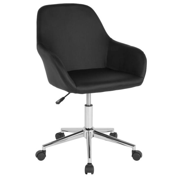 Flash Furniture Black Leather Office/Desk Chair CGA-DS-231700-BL-HD