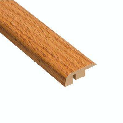 Honey Oak 7/16 in. Thick x 1-5/16 in. Wide x 94 in. Length Laminate Carpet Reducer Molding