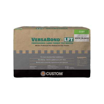 VersaBond-LFT 50 lb. White Fortified Medium Bed Mortar