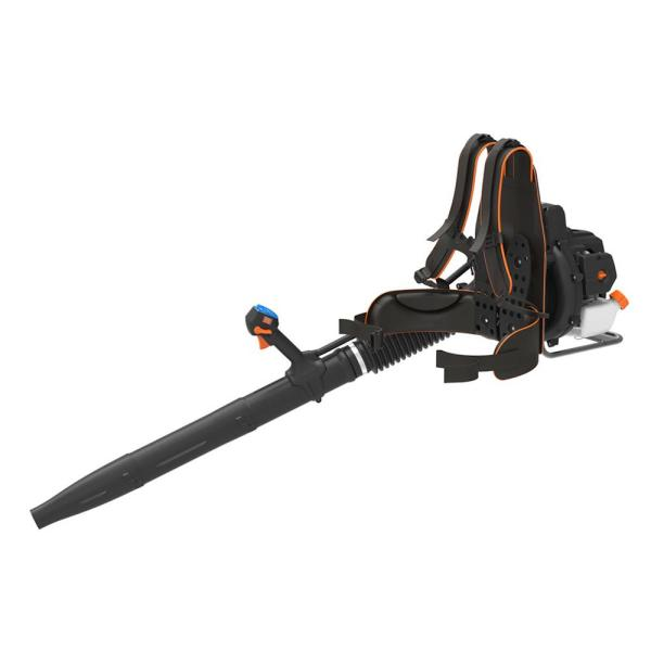 Lawnmaster No Pull 175 Mph 470 Cfm 31cc Gas With Electronic Start Backpack Leaf Blower Nptbl31ab The Home Depot