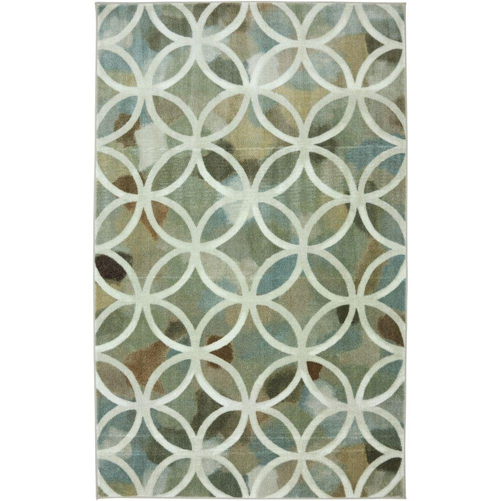 null Victorian District Light Multi 5 ft. x 8 ft. Area Rug
