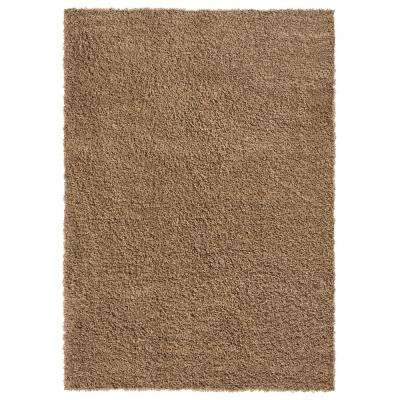 Bella Collection Beige 3 ft. 3 in. x 4 ft. 8 in. Area Rug
