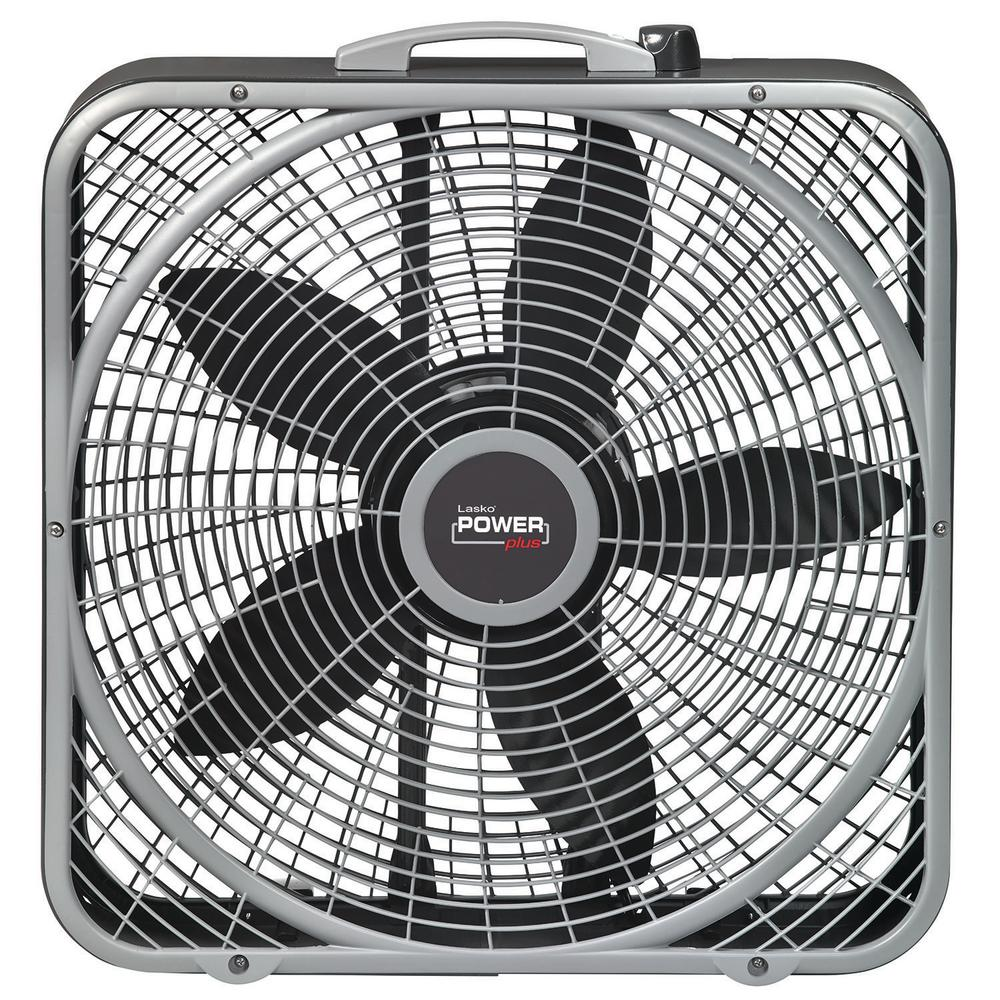 lasko 20 in power plus box fan b20540 the home depot