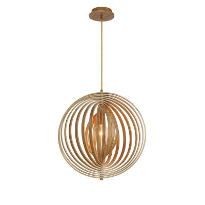 Abruzzo Collection 1-Light Medium Wood Pendant