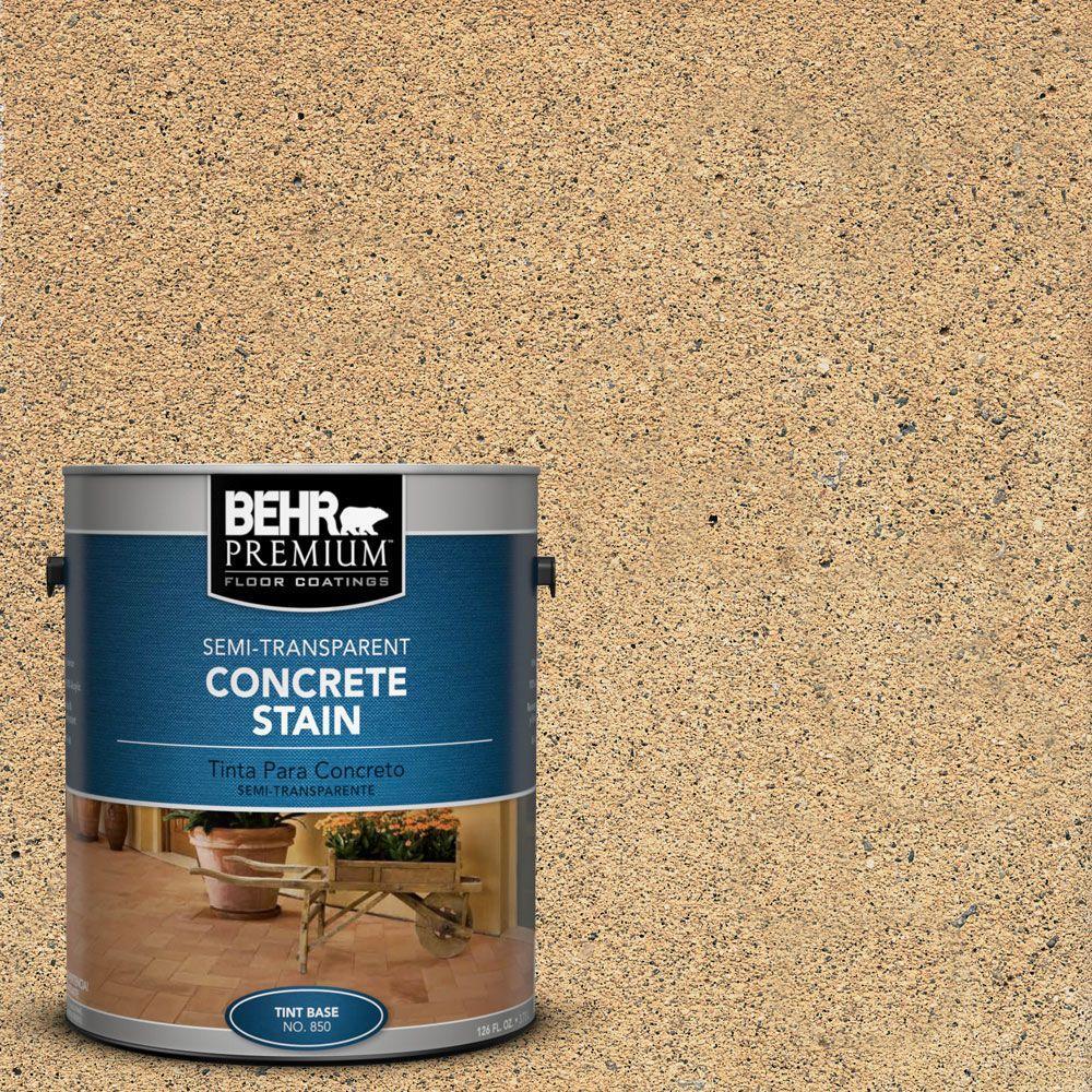 1 gal. #STC-10 Desert Flagstone Semi-Transparent Interior/Exterior Concrete Stain