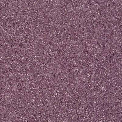 Full Bloom II - Color Frosty Grape Texture 12 ft. Carpet